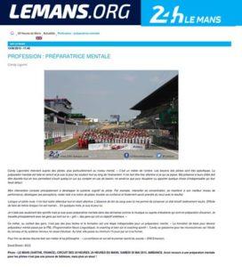 Article sur Lemans.org