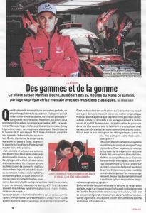 Revue de presse : Article dans le magazine l'équipe