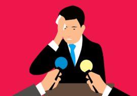 Le trac et la peur d'échouer nuisent à la performance scénique